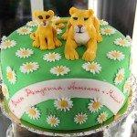 "Торт ""Львенок и мама"""