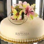 Торт с цветами-6