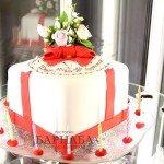 Торт с цветами-3