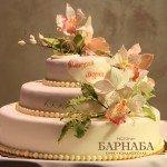 """Свадебный торт """"Орхидеи"""""""