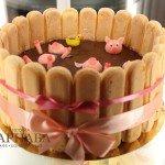 """Торт """"Шоколадные ванны"""""""