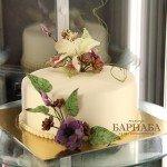 Торт с цветами-5