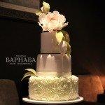 """Свадебный торт """"Нежность чувств"""""""