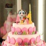 """Торт """"Девочке 1 годик-1"""""""