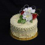 Торт с цветами-4