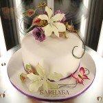 Торт с цветами-1