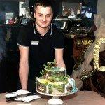 """Торт на банкете """"70-летие"""" в Барнаба"""